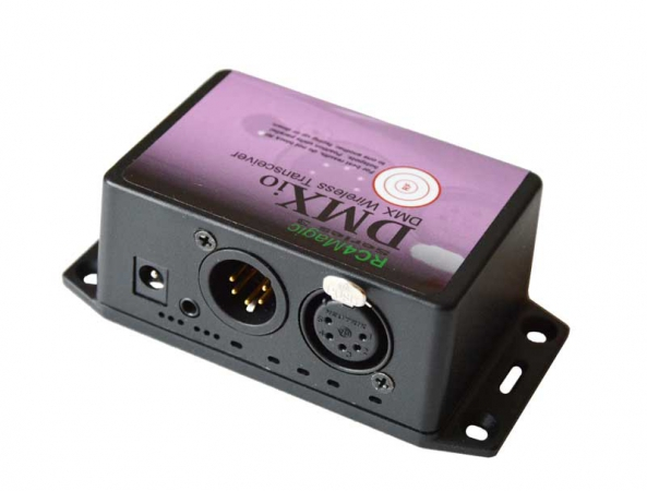 DMXio wireless DMX transceiver