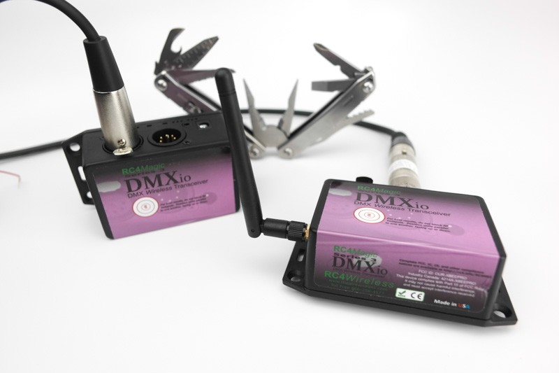 DMXio HG wireless DMX transceiver