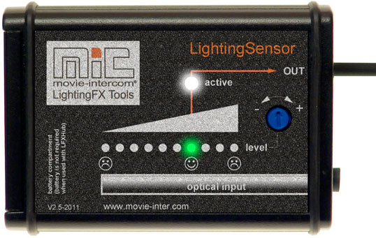 LightingSensor for LFXHub flicker generator