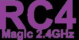 RC4 Magic 2.4 GHz wireless DMX