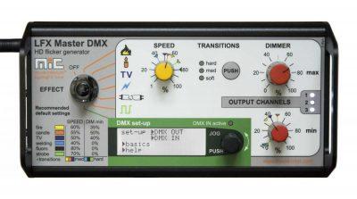LFX Master DMX most powerful flickerbox