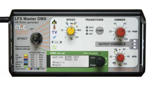 LFX Master DMX flicker box lighting effect generator