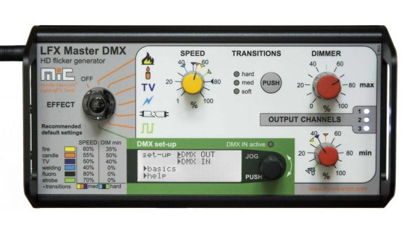 LFX Master DMX - most powerful flicker box