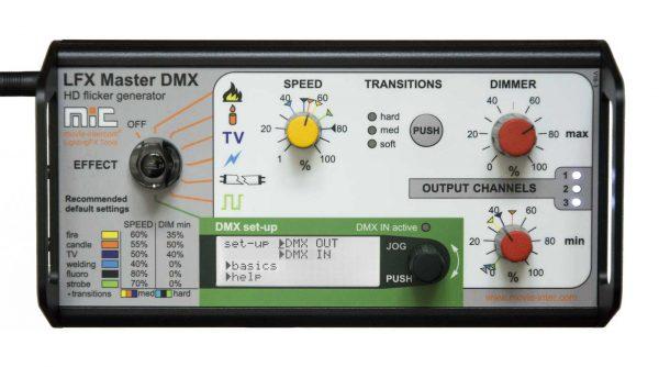 LFX Master DMX - most powerful flicker box