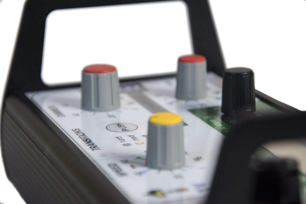 LFX Master DMX Flackergenerator: side view