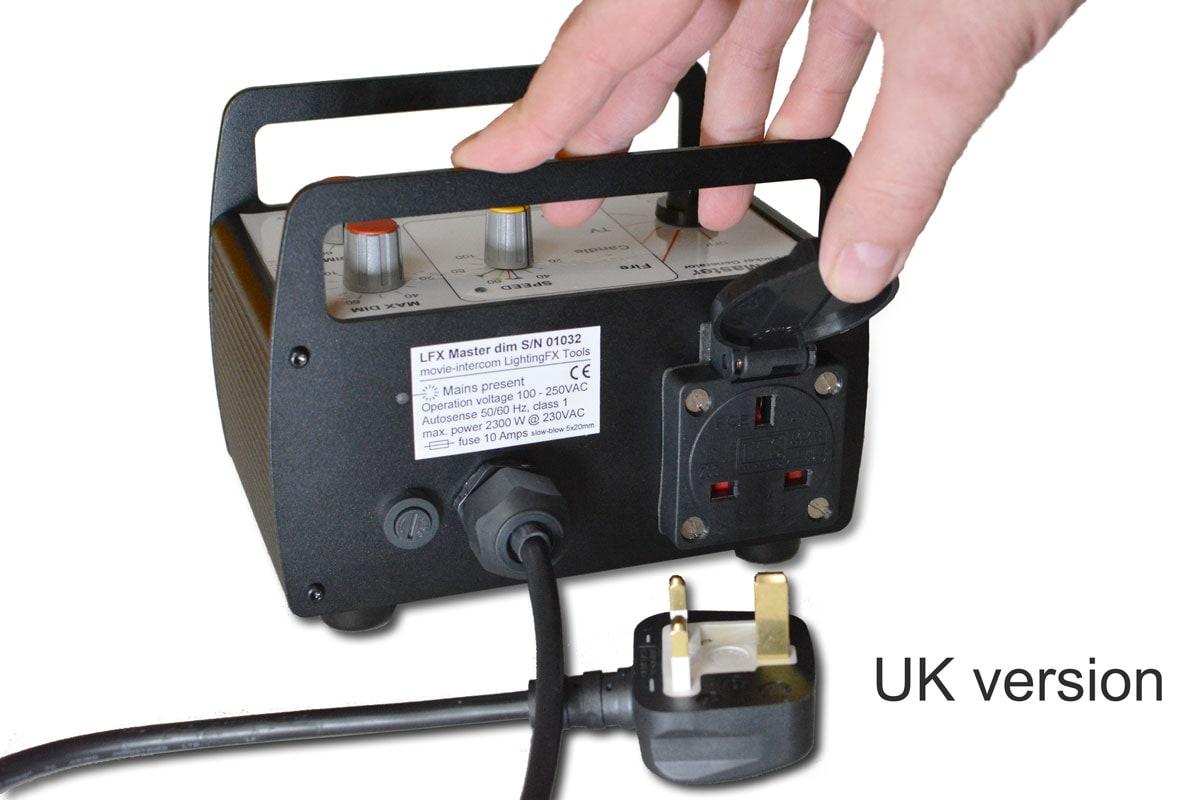 LFX Master dim flicker generator - UK version