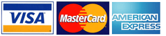 Visa Mastercard American Express payment at movie-intercom