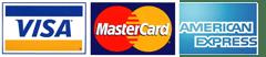 Visa Mastercard American Express payment at movie-intercom