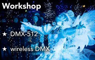 Workshop DMX-512 & wireless DMX am 16.6.18 von 10-17 Uhr bei MBF Berlin