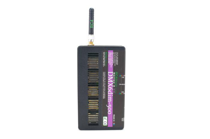 RC4 Wireless: RC4 Magic 6-channel, 500W - wireless DMX receiver dimmer