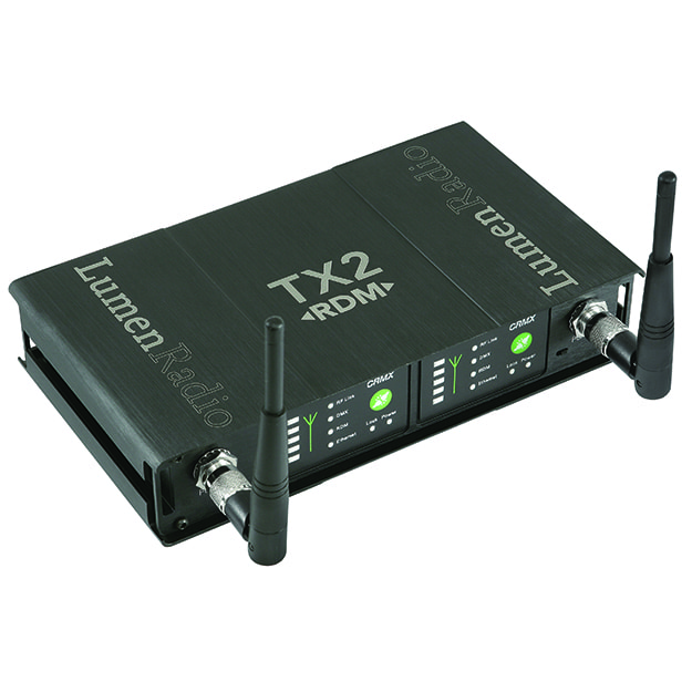 LumenRadio wireless DMX-TX2-RDM transceiver