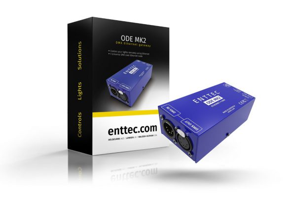 ENTTEC ODE mk2 Ethernet to DMX converter