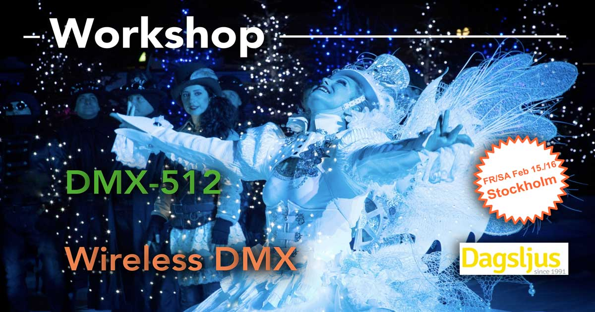 Workshop DMX-512 & wireless DMX