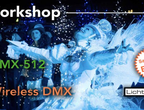 DMX-512 & wireless DMX Workshop in Berlin 6. April